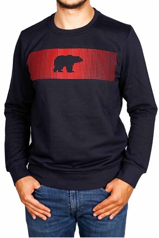 Bad Bear FANCY Erkek Sweatshirt 19.02.12.007NAVY
