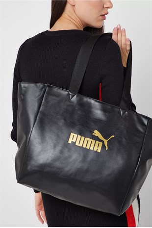 Puma WMN Core Up Large Shopper Kadın Omuz Çanta 075953 01